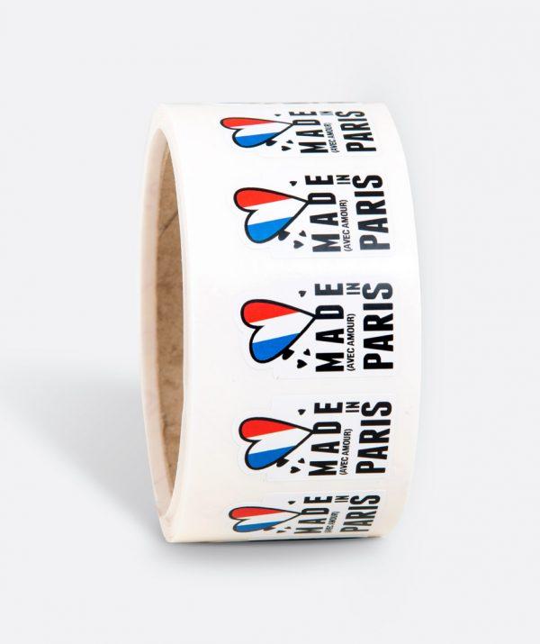 Etiquette Made in Paris, Impression d'étiquette personnalisée à votre ville