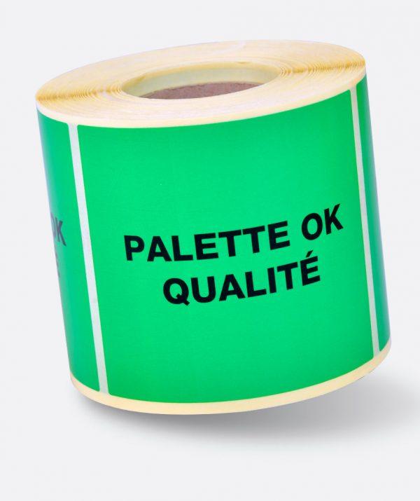Étiquette pour traçabilité